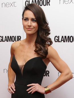 TV star Kirsty Gallacher