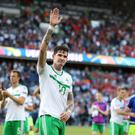 Northern Ireland's Kyle Lafferty.