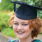 Megan Boyd will graduate today from Ulster University