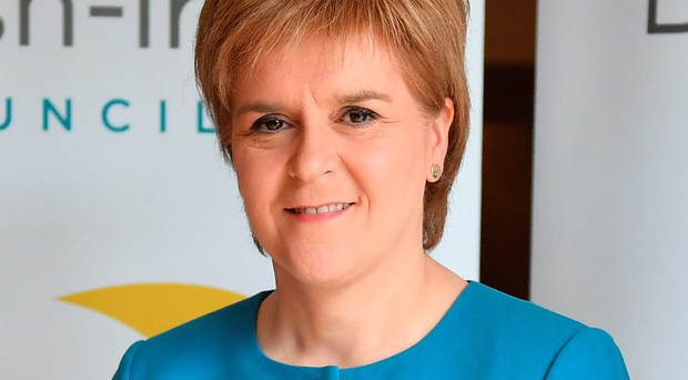 Motion warning: Nicola Sturgeon