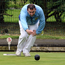 Green for go: Philip Cromie bowling for Lisnagarvey against Balmoral