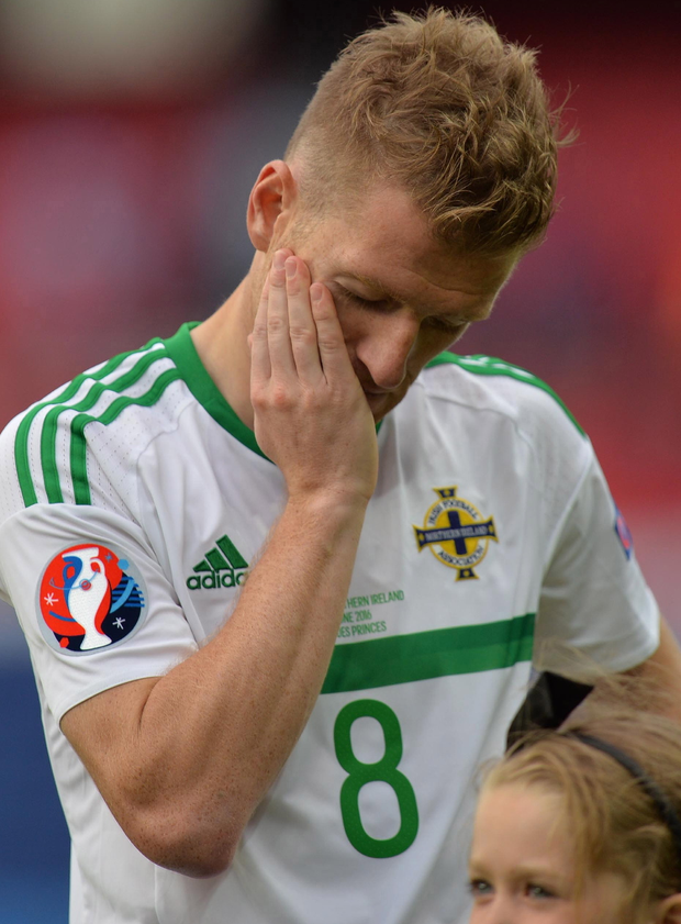 Realist: Steven Davis knows Northern Ireland manager Michael O'Neill will be in high demand after his exploits at Euro 2016