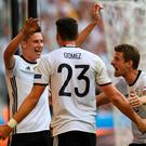 German efficiency: Joachim Loew wants Germany to improve as they come to the business end of the tournament