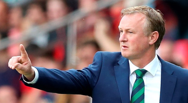 Unfinished business: Here's hoping Michael O'Neill stays around to oversee our World Cup qualifying campaign