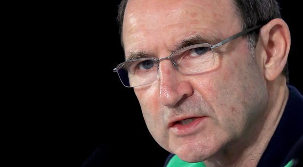 Cautious: Martin O'Neill is happy with his team's efforts at the Euros but knows a difficult path to the World Cup lies ahead