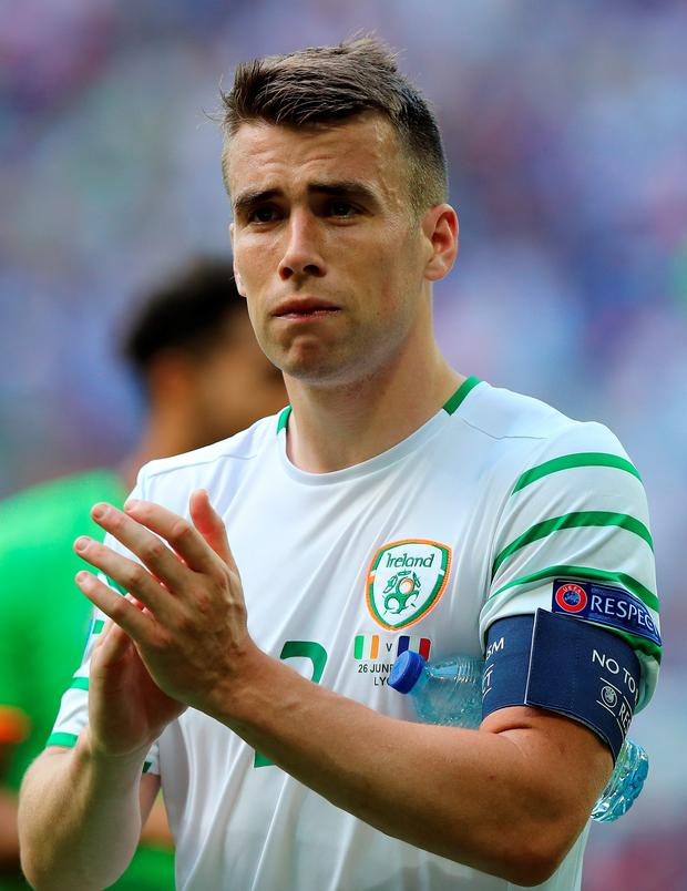 Better times ahead: Seamus Coleman sees a bright future for the Republic