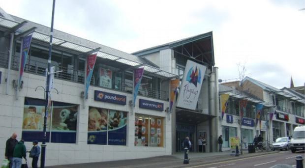 "Selling agents have called the centre a ""prime redevelopment opportunity in the heart of Bangor"""