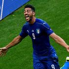Italy's forward Pelle celebrates a goal during the Euro 2016 round of 16 football match between Italy and Spain at the Stade de France stadium in Saint-Denis, near Paris, on June 27, 2016. / AFP PHOTO / MIGUEL MEDINAMIGUEL MEDINA/AFP/Getty Images