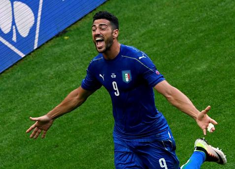 Sting in tail: Graziano Pelle kills off Spain's Euro 2016 hopes