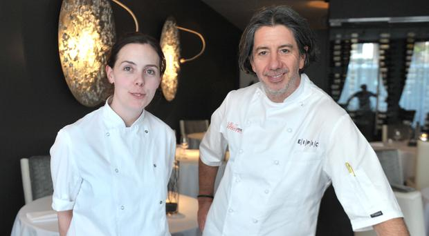 Restaurateur Michael Deane and Danni Barry, head chef at Deanes Eipic restaurant, are among those who are welcoming foodies from around the world to sample Northern Ireland's top cuisine