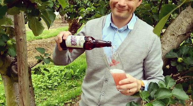 Greg MacNeice of Mac Ivors Traditional ciders will be selling his drink throughout Italy