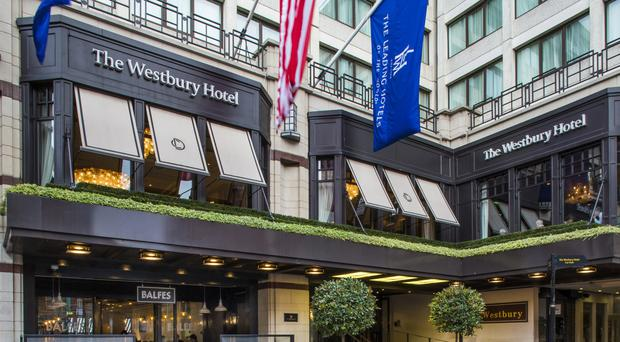 The Westbury Hotel, situated just off Grafton Street, has stunning bedrooms, amazing restaurants and bars that you find hard to leave.