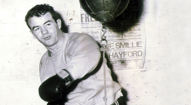 Boxing legend: Freddie Gilroy won British, Commonwealth and European titles