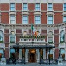 Full of history: The Shelbourne Hotel Dublin.