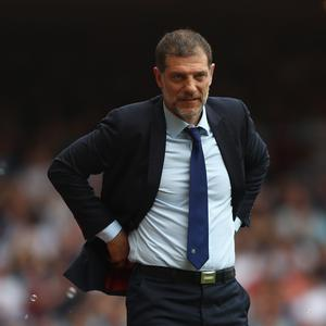 No-go: Slaven Bilic unlikely to be interested in the England job