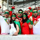 Portugal fans enjoy the atmosphere prior to the UEFA EURO 2016 quarter final match between Poland and Portugal at Stade Velodrome on June 30, 2016 in Marseille, France. (Photo by Lars Baron/Getty Images)