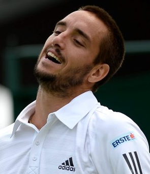 Viktor Troicki criticised the umpire during his defeat to Albert Ramos-Vinolas