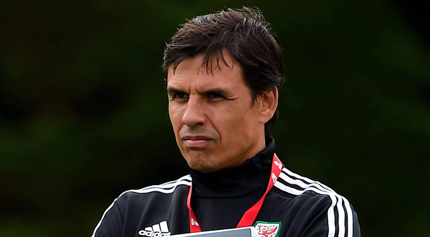 Raring to go: Chris Coleman says he will savour Wales' quarter-final clash