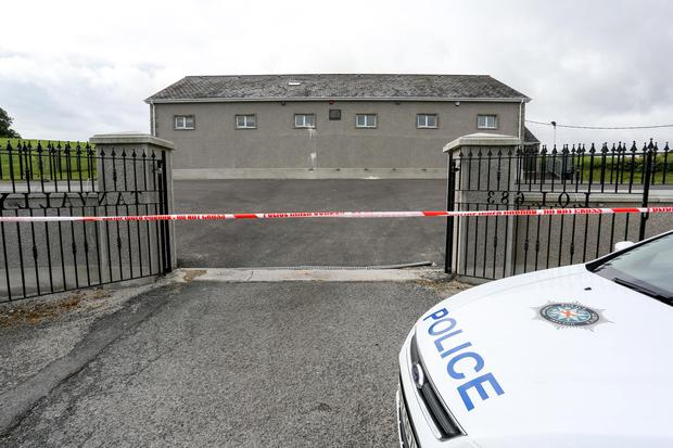 Tanvally Orange Hall, situated just outside Annaclone, on the main Rathfriland to Banbridge Road, was attacked some time between Thursday evening and daylight on Friday 1 July morning. The members of Tanvally Loyal Orange Lodge had planned to hold an event in the hall this evening. Picture: Philip Magowan / PressEye