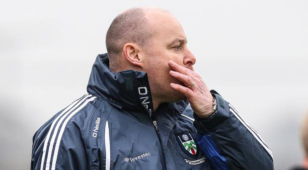 Making point: Malachy O'Rourke wants a better attacking display