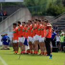 Lining out: Armagh face Laois in the All-Ireland qualifiers at Portlaoise today