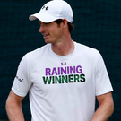 Centre of attention: Andy Murray will be back in Centre Court action today and hoping to make it to the quarter-finals again