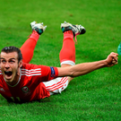 Super man: Gareth Bale has played a massive part in driving his side into the quarter-finals in France