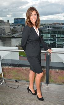 Alison Comyn, newsreader for UTV Ireland programme Ireland Live