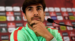 Main man: Andre Gomes is backing Cristiano Ronaldo to deliver