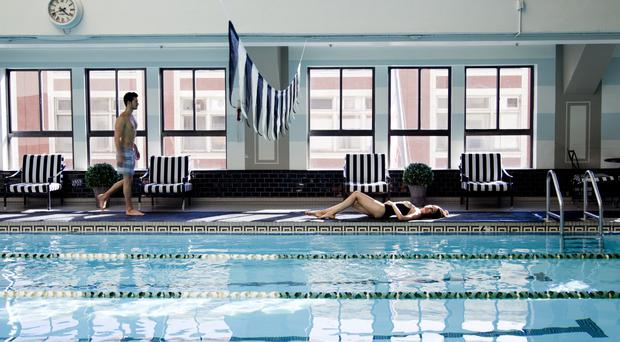 The Los Angeles Athletic Club oozes luxury with every amenity available from top gyms and pools to relaxing bar lounges.
