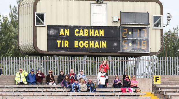 One to watch: The clash between Cavan and Tyrone was a classic encounter but overlooked by live TV with RTE and Sky ignoring both Ulster replays at the weekend