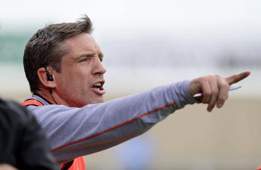 Pointing fingers: Kieran McGeeney has had more than his fair share of censure