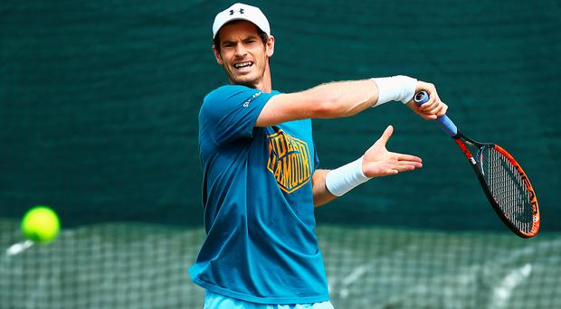 Under pressure: Murray says he's having to deal with his own high expectations