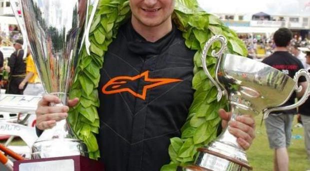Prize guy: Adam Maxwell won the World title at Foxhall