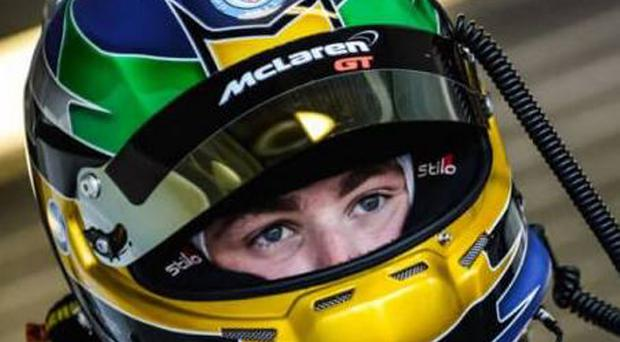 Up for it: Andrew Watson can't wait to take to his favoured Spa circuit