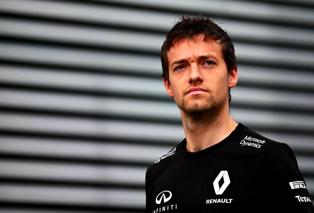 Unclear future: Jolyon Palmer has had a tough start to his F1 career