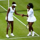 Gimme five: Serena and Venus Williams will face each other for the fifth time in a Wimbledon final should they both win their semi-finals today