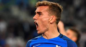 Man of the match: France's two-goal hero Griezemann