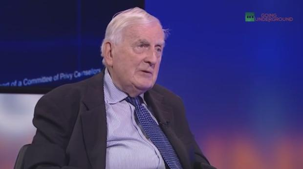 Lord Morris: Llawyers were kept at a distance and I did all my work by correspondence