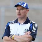 All quiet: Malachy O'Rourke wasn't making any rash decisions