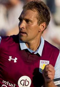Stiliyan Petrov made his return for Aston Villa after a long battle against leukaemia