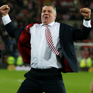 Leading the way: Sam Allardyce is the only Englishman being considered