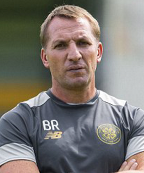 Getting better: Brendan Rodgers is pleased with Celtic's progress