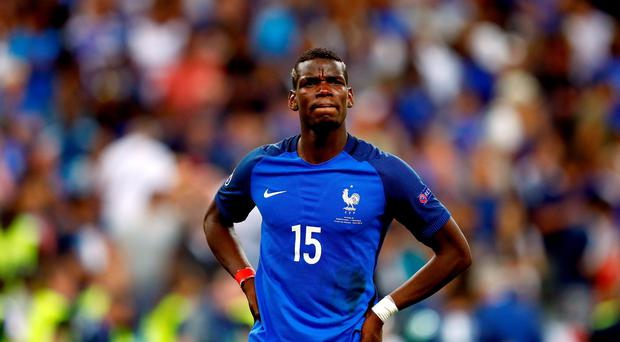 Wanted man: Manchester United are chasing France star Paul Pogba