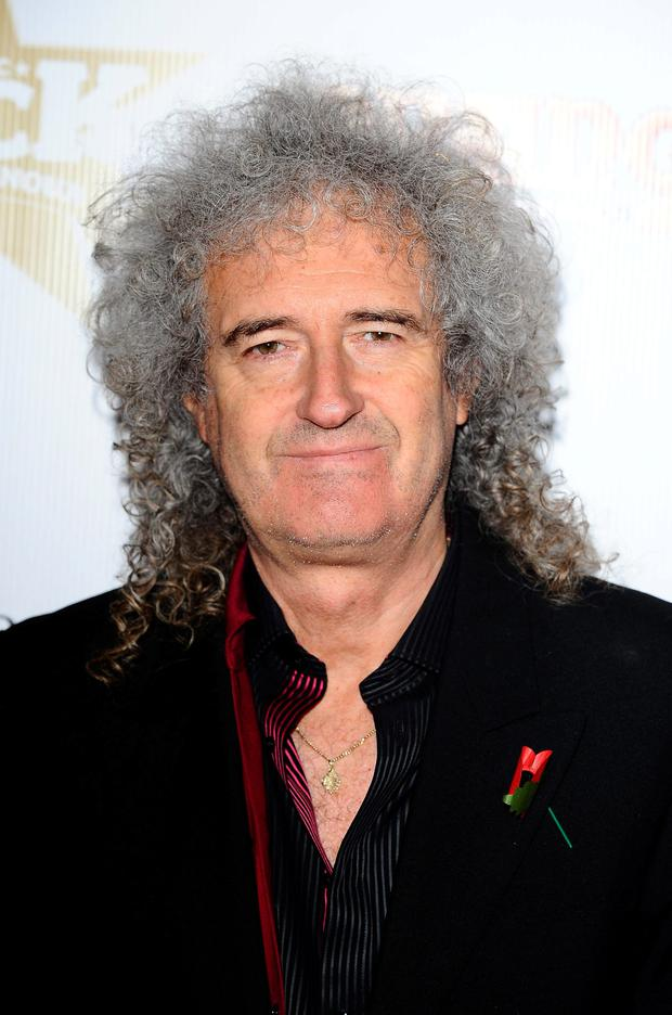 Outburst: Brian May. Photo: Ian West/PA Wire