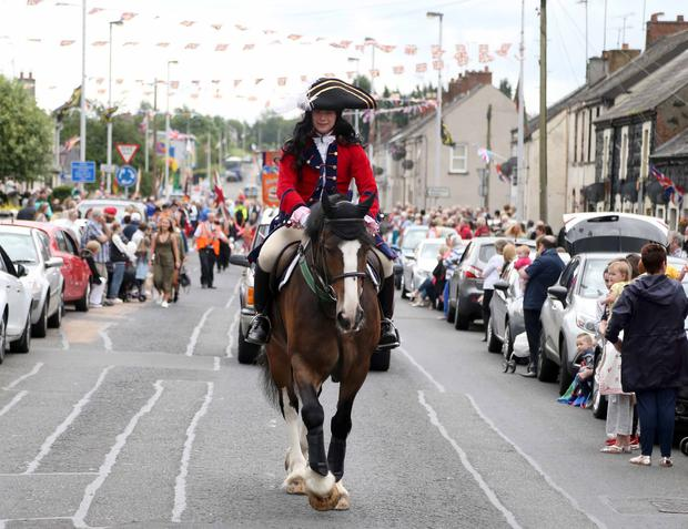 The Twelfth of July parade in Ballymena. Pic Steven McAuley/McAuley Multimedia