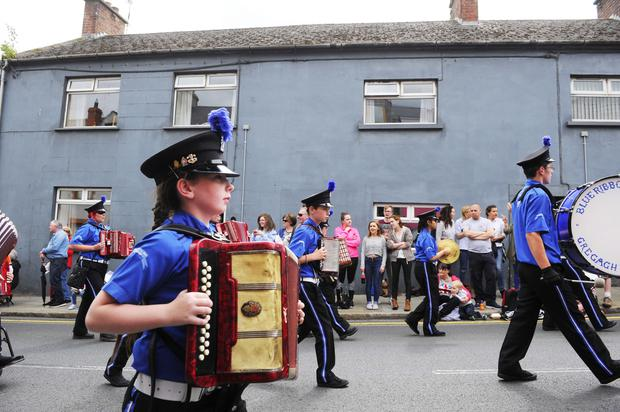Pacemaker press 12/07/2016 The Annual 12th of July takes place in comber Co Down. Picture Mark Marlow/pacemaker press
