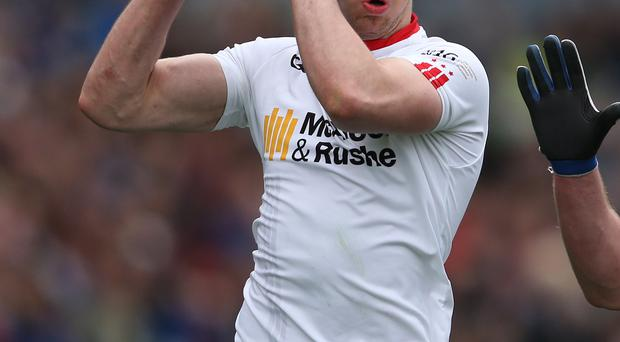 Slow start: Tyrone ace Mattie Donnelly had won just two games in the Ulster Championship before the 2016 campaign