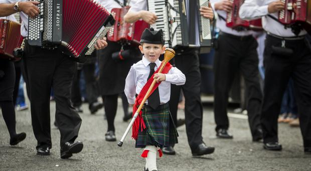 Twelfth Celebrations in Ahoghill. Liam McBurney/RAZORPIX