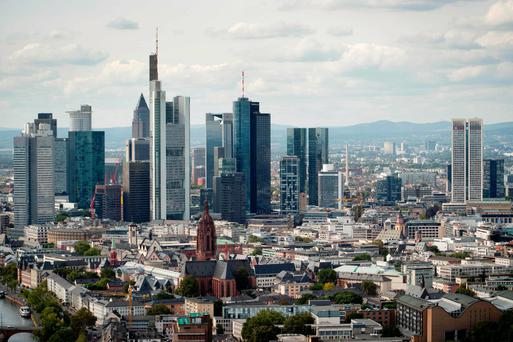 A top German central banker expects a boom in Frankfurt as financial businesses move activities and staff out of London in the wake of Brexit